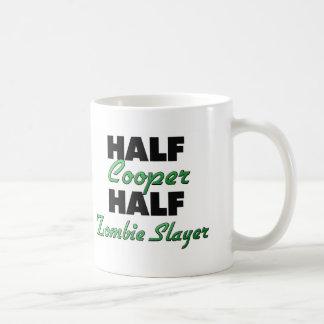 Half Cooper Half Zombie Slayer Coffee Mug