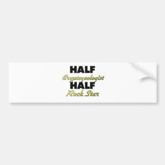 Half Cryptozoologist Half Rock Star Bumper Sticker