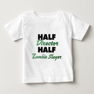 Half Director Half Zombie Slayer Baby T-Shirt