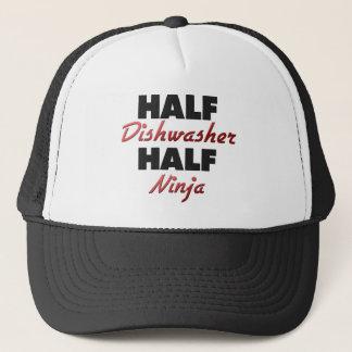 Half Dishwasher Half Ninja Trucker Hat