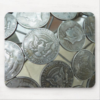 Half Dollar chair Mouse Pad