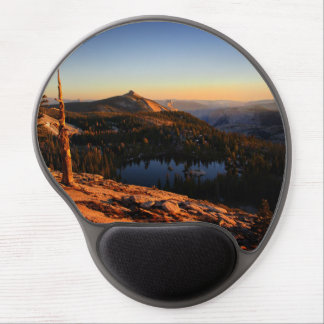 Half Dome and Clouds Rest at Sunset - Yosemite Gel Mouse Pad