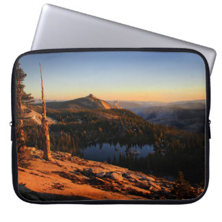 Half Dome and Clouds Rest at Sunset - Yosemite Laptop Sleeve