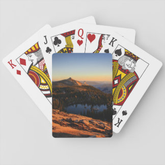 Half Dome and Clouds Rest at Sunset - Yosemite Playing Cards