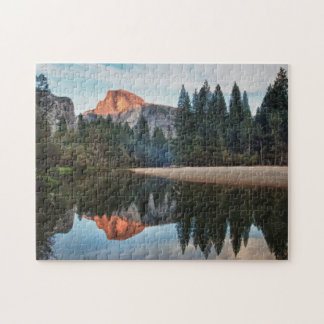 Half Dome and Merced Jigsaw Puzzle