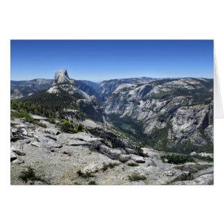 Half Dome and Yosemite Valley - Yosemite Card
