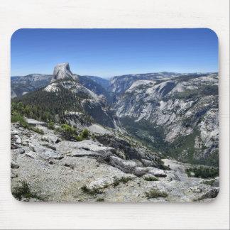 Half Dome and Yosemite Valley - Yosemite Mouse Pad