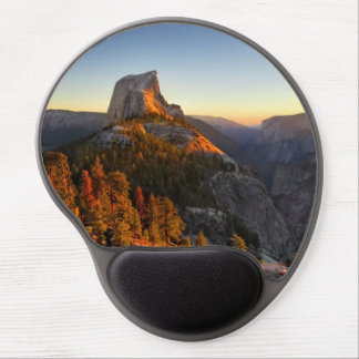 Half Dome at Sunset Detail - Yosemite Gel Mouse Pad