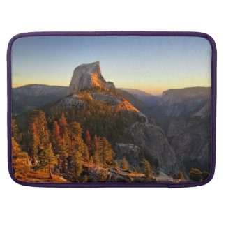 Half Dome at Sunset Detail - Yosemite Sleeve For MacBooks