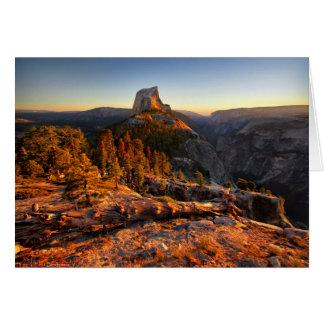 Half Dome at Sunset - Yosemite Card