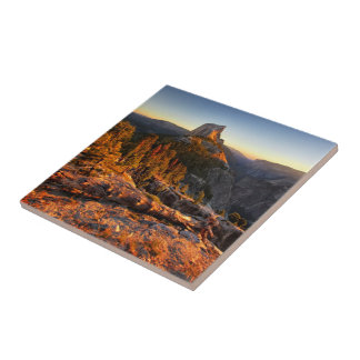 Half Dome at Sunset - Yosemite Ceramic Tile