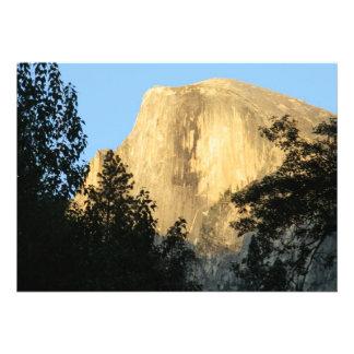Half Dome at Sunset, Yosemite National Park Custom Invite