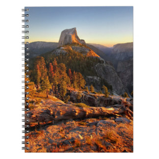 Half Dome at Sunset - Yosemite Notebook