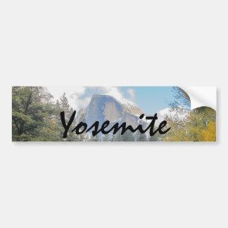 Half Dome Bumper Sticker