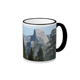 Half Dome from Panorama Trail I in Yosemite Ringer Mug