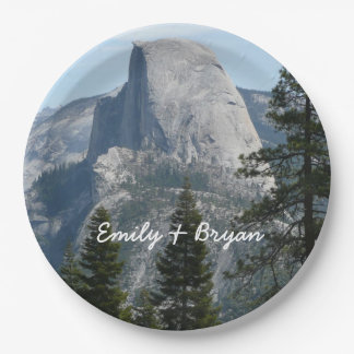 Half Dome from Panorama Trail I Paper Plate