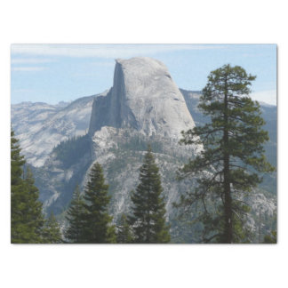 Half Dome from Panorama Trail I Tissue Paper