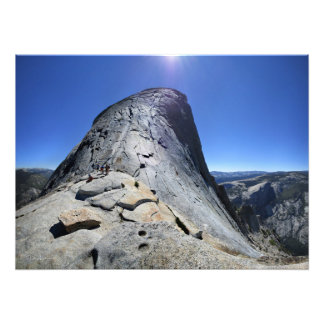 Half Dome from the Base of the Cables - Yosemite Photo Print