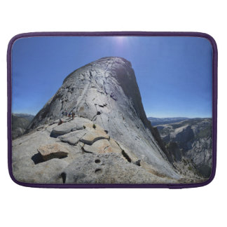 Half Dome from the Base of the Cables - Yosemite Sleeve For MacBooks