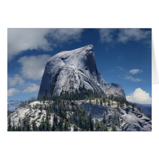 Half Dome from the North - Yosemite Card