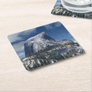 Half Dome from the North - Yosemite Square Paper Coaster