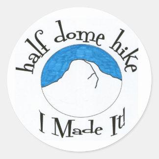 "Half Dome Hike ""I Made It!"" Sticker"