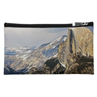 HALF DOME IMAGE AS SEEN FROM GLACIER POINT COSMETIC BAG
