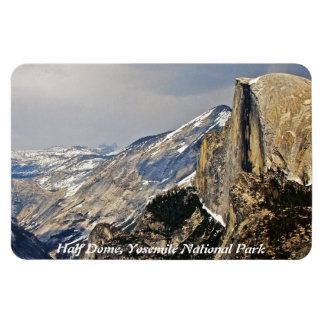 HALF DOME IMAGE AS SEEN FROM GLACIER POINT RECTANGULAR PHOTO MAGNET