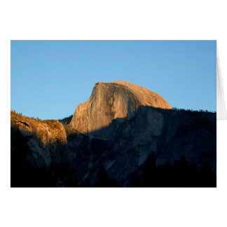 Half Dome in Late Afternoon (Custom Message) Card