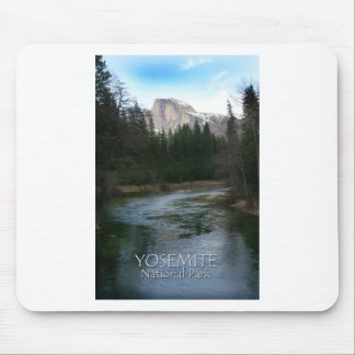 Half Dome in Yosemite National Park, California Mouse Pads
