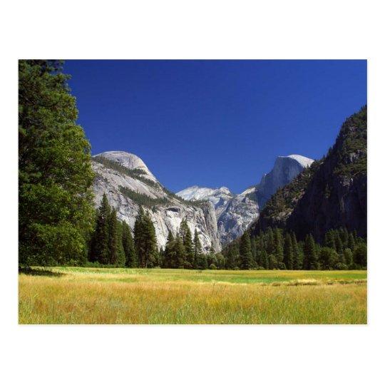 Half Dome In Yosemite National Park Postcard