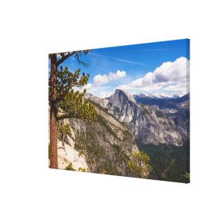 Half Dome landscape, California Canvas Print