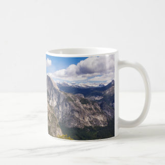 Half Dome landscape, California Coffee Mug