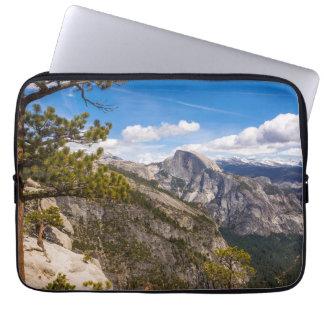 Half Dome landscape, California Laptop Sleeve