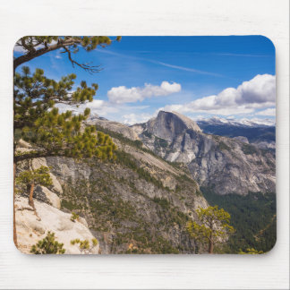 Half Dome landscape, California Mouse Pad