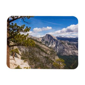 Half Dome landscape, California Rectangular Photo Magnet