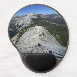 Half Dome Looking Down from the Cables - Yosemite Gel Mouse Pad