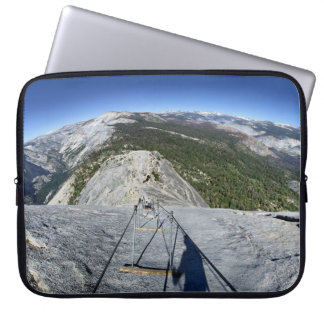 Half Dome Looking Down from the Cables - Yosemite Laptop Sleeve