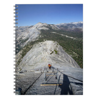 Half Dome Looking Down from the Cables - Yosemite Notebook