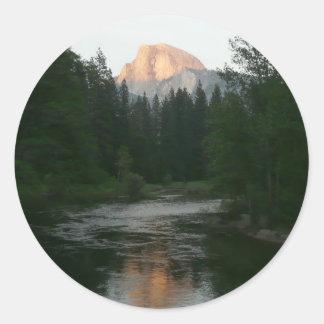 Half Dome Sunset Sticker