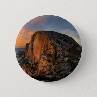 Half Dome Sunset - Yosemite 6 Cm Round Badge