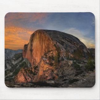 Half Dome Sunset - Yosemite Mouse Pad