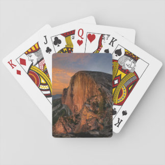 Half Dome Sunset - Yosemite Playing Cards