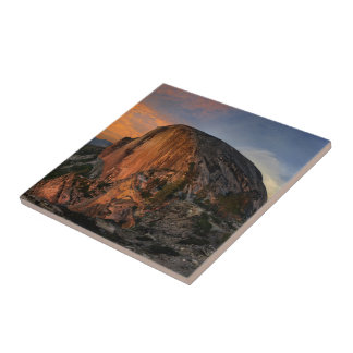 Half Dome Sunset - Yosemite Tile