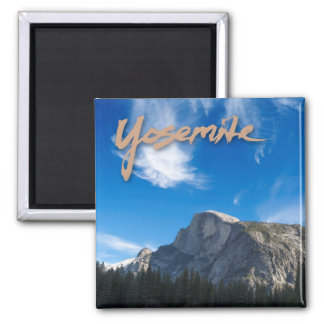 Half Dome Yosemite Magnet