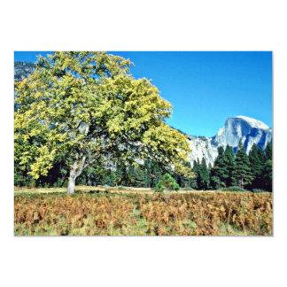 "Half-dome - Yosemite National Park 5"" X 7"" Invitation Card"