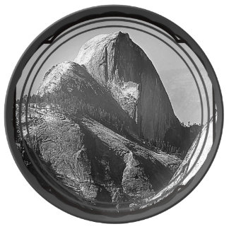 Half Dome, Yosemite National Park Plate