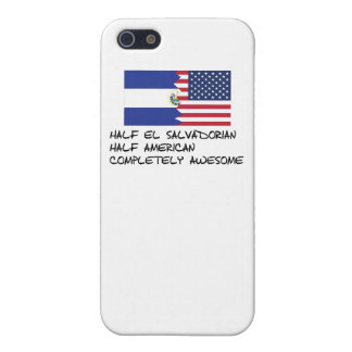 Half El Salvadorian Completely Awesome iPhone 5/5S Covers