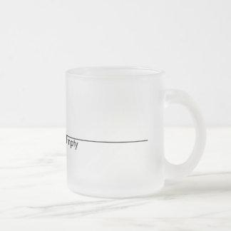 Half Empty Mug