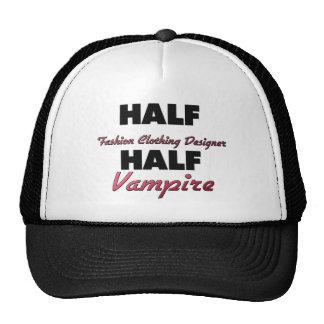 Half Fashion Clothing Designer Half Vampire Hat